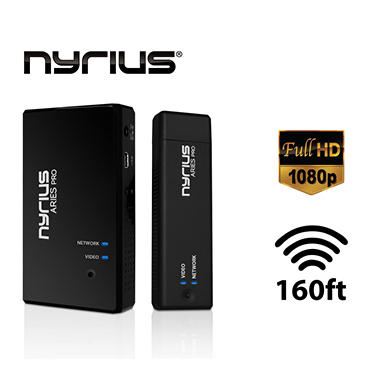 Nyrius® ARIES™ Pro Digital Wireless HDMI Transmitter and Receiver
