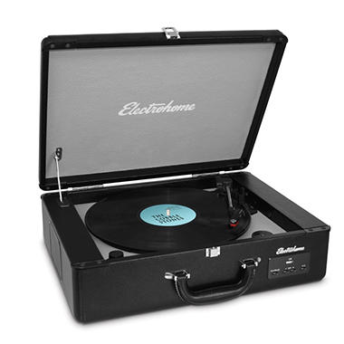 Electrohome Archer Vinyl Turntable Stereo System w/ Built-in Speakers