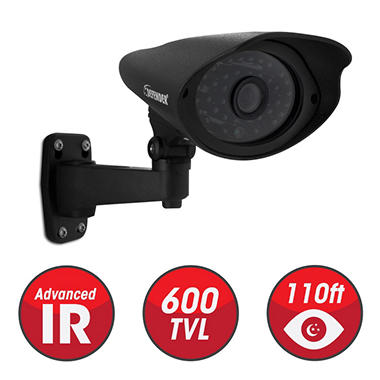 Defender 16 Channel Security System with 1 TB Hard Drive, 16 600TVL High-Res Outdoor Cameras, 110' Night Vision