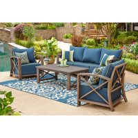 Nantucket 4-Piece Outdoor Seating Set