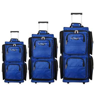 Geoffrey Beene Vertical Duffle Wheeled Set  GB18-3