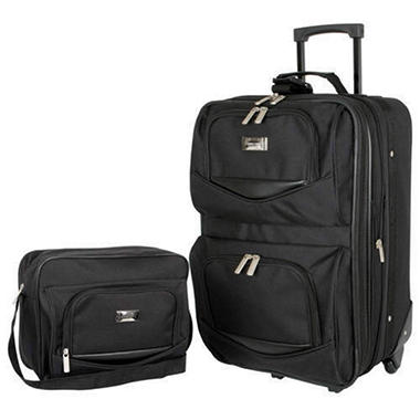 Geoffrey Beene Luggage 2 Piece Set