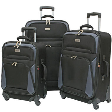 Geoffrey Beene Vertical Spinner Wheel Luggage  GB866-3