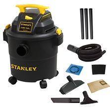 Stanley 5-gallon Poly Wet/Dry Vacuum - 3 HP
