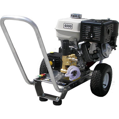 Pressure-Pro 4,000 PSI - Gasoline Pressure Washer - Powered by Honda