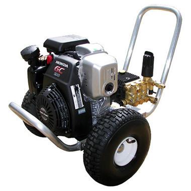 Pressure-Pro 3,000 PSI - Gasoline Pressure Washer - Powered by Honda