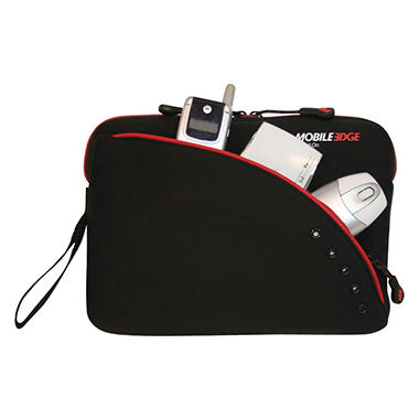 "Mobile Edge Sleeve for 9"" Tablets - Black and Red"