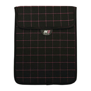 """Mobile Edge NeoGrid Sleeve for 10"""" Tablets - Black w/ Blue Stitching"""