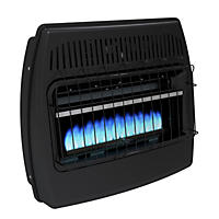 Dyna-Glo GBF30DTDG-1 30,000 BTU Blue Flame Vent-Free Thermostatic Garage Heater