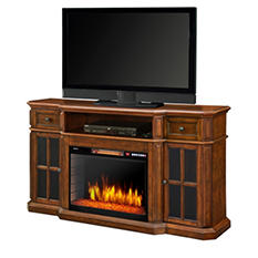 Muskoka Sinclair TV Stand Media Console with Electric Fireplace
