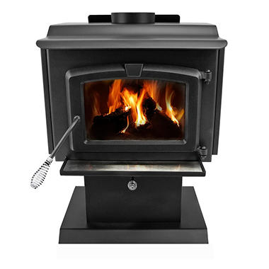 Pleasant Hearth 1,200 Sq Ft Wood Stove 50,000 BTU's with Blower