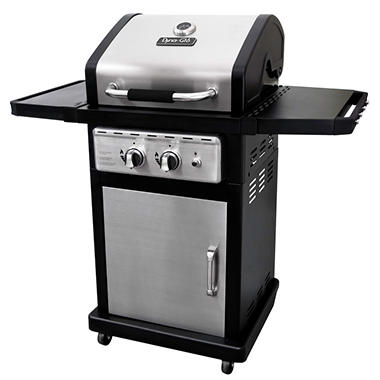 Dyna-Glo Smart Space Living 30,000 BTU 2 Burner LP Gas Grill