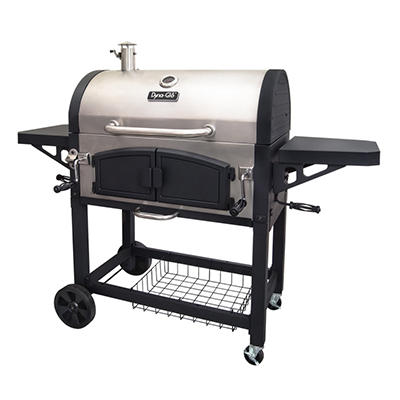 Dyna-Glo Charcoal Dual Zone Stainless Steel Premium Grill