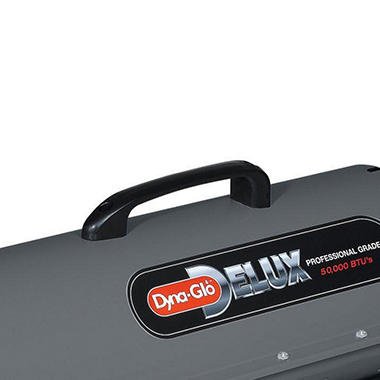 Dyna-Glo DELUX Portable Multi-Fuel Forced Air Heater - 75,000 BTU