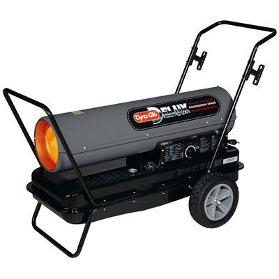 Dyna-Glo DELUX Portable Multi-Fuel Forced Air Heater - 210,000 BTU