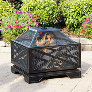 Pleasant Hearth Martin Extra Deep Fire Pit - 26""