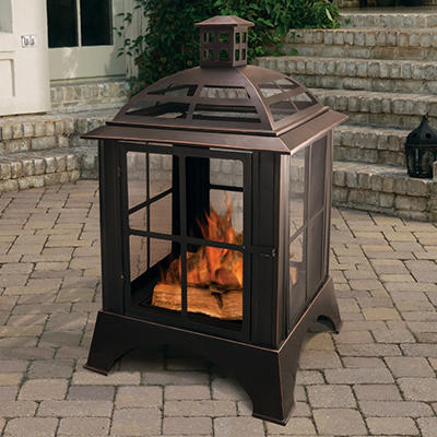 Pleasant Hearth Chesterfield Outdoor Fireplace