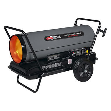 Dyna-Glo - DELUX Portable Multi-Fuel Forced Air Heater - 400,000 BTU