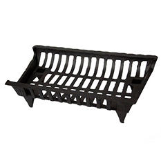 """Pleasant Hearth Cast Iron Fireplace Grate - 24"""""""