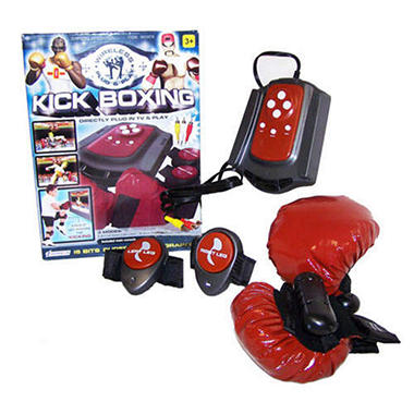 Kickboxing Interactive TV Video Game