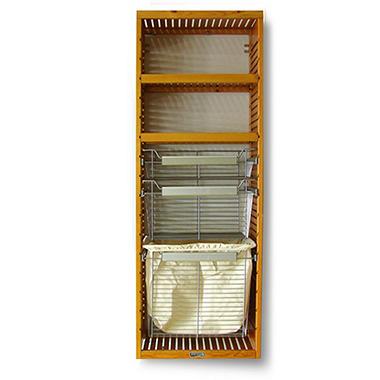 Deluxe Honey Maple Packaged Tower Kit