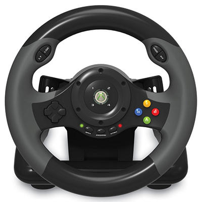 Hori Racing Wheel EX2 Controller for Xbox 360