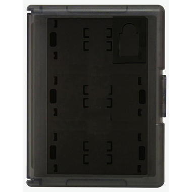 Hori Black Game Card Case 12 for the PS Vita