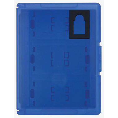 Hori Blue Game Card Case 12 for the PS Vita