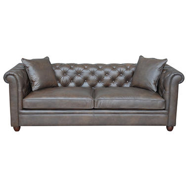 Mauro timeless chesterfield sofa sam 39 s club for Sofa timeless
