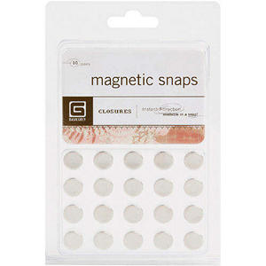 Magnetic Snaps 10/Pkg - Small 3.8""