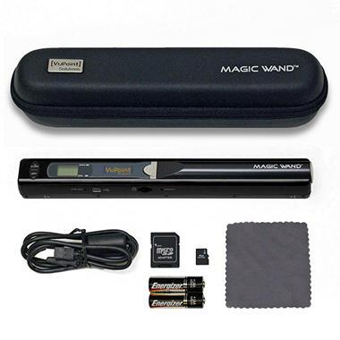VuPoint Magic Wand Portable Digital Scanner