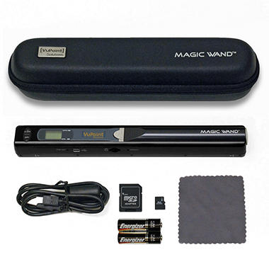 VuPoint Magic Wand Portable Digital Scanner