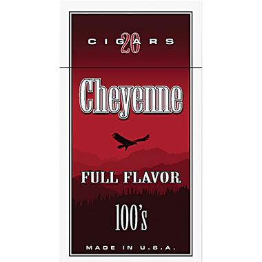 Cheyenne Large Cigars Full Flavor 100s - 200 ct.