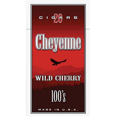 Cheyenne Little Cigars Cherry 100s - 20 ct.