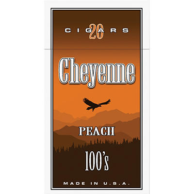 Cheyenne Little Cigars Peach 100s - 200 ct.