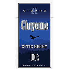 Cheyenne Large Cigars Berry 100s - 200 ct.