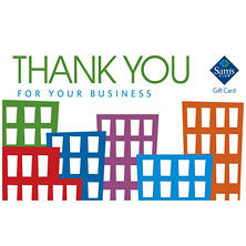 Sam's Club Thank You for Your Business Gift Card