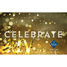 Sam's Club Celebrate Confetti Gift Card