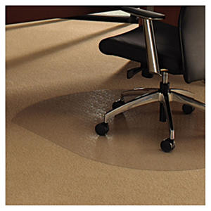 "Floortex 49"" x 39"" Cleartex Ultimat Polycarbonate Chair Mat"