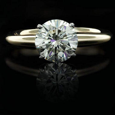 2 ct. Round Diamond Solitaire Ring (I, SI2)
