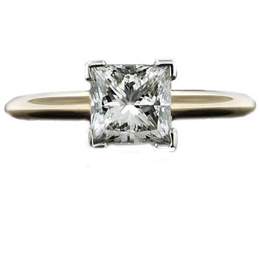 1.50 ct. Princess Diamond Solitaire Ring (I, VS2)
