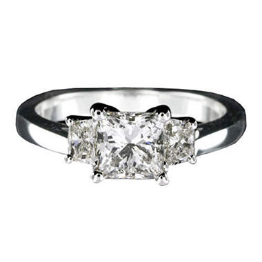 1.30 ct. t.w. Princess-Cut Diamond Ring (I, SI2)