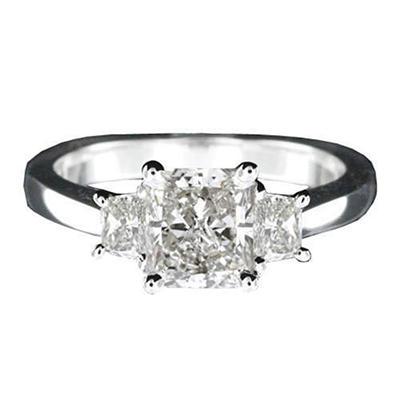 1.50 ct. t.w. Radiant-Cut Diamond Ring (I, SI2)