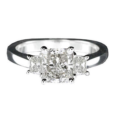 1.50 ct. t.w. Radiant-Cut Diamond Ring (I, SI2)