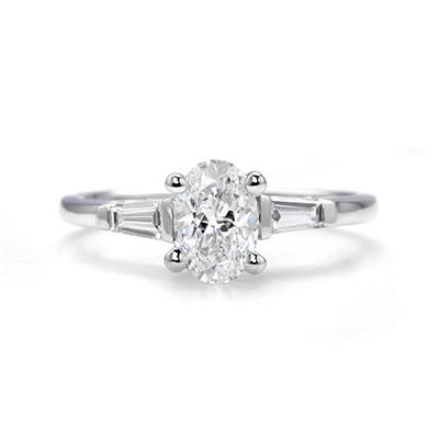 1.30 ct. t.w. Classic Oval Diamond Ring (I, SI2)