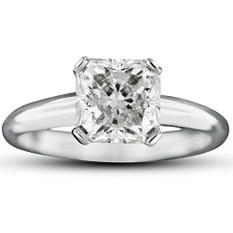 2.02 ct. Radiant-Cut Diamond Ring (F, VS1)