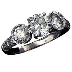 2 ct. t.w. Round Diamond Ring (H-I, SI2)