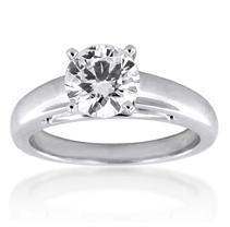 1.01 ct. Diamond Solitaire Ring (I, SI1)
