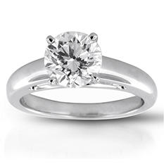 2.01 ct. Diamond Solitaire Ring (G, SI1)