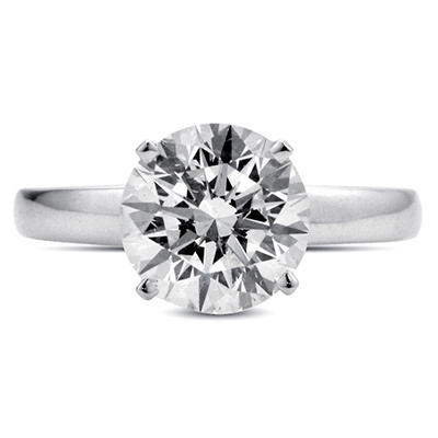 2.02 ct. Diamond Solitaire Ring (I, SI1)